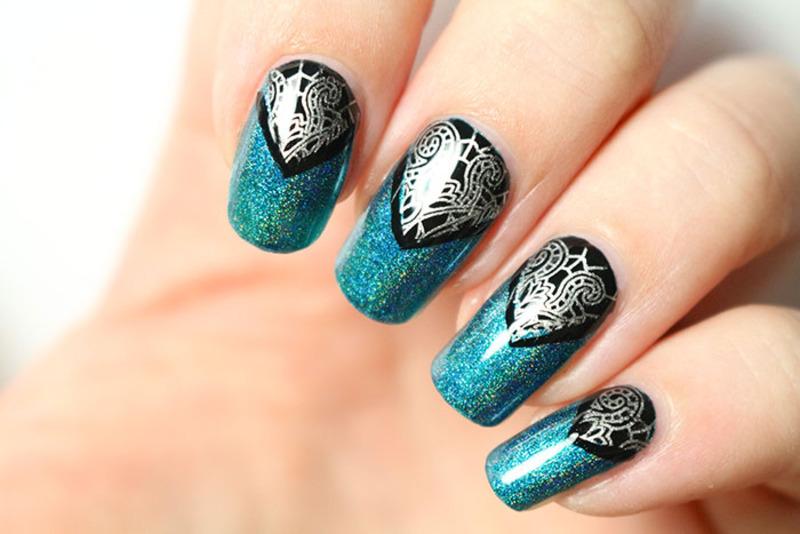 Scintealliant <3 nail art by Tribulons