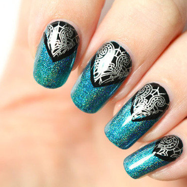 Scintealliant <3 nail art by Tribulons