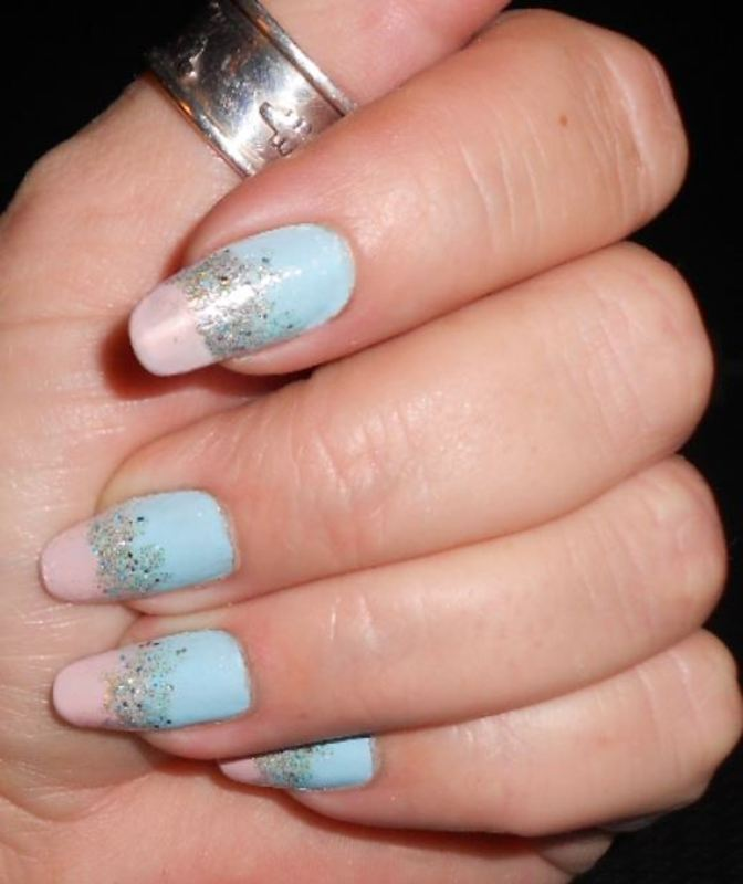 Summer soft nail art by Maureen Spaulding