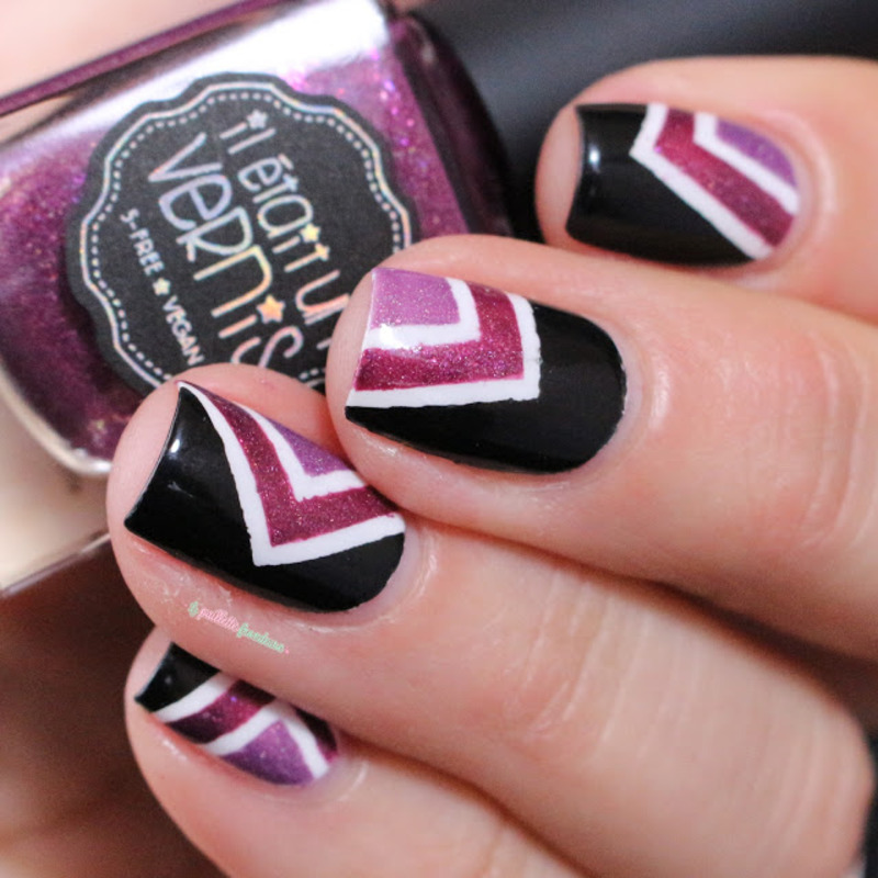 purple vibe nail art by nathalie lapaillettefrondeuse
