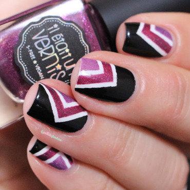 purple vibe nail art by nathalie lapaillettefrondeuse