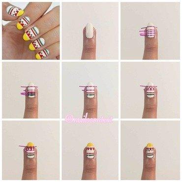 Cinco De Mayo Nail Art Tutorial nail art by NailsContext