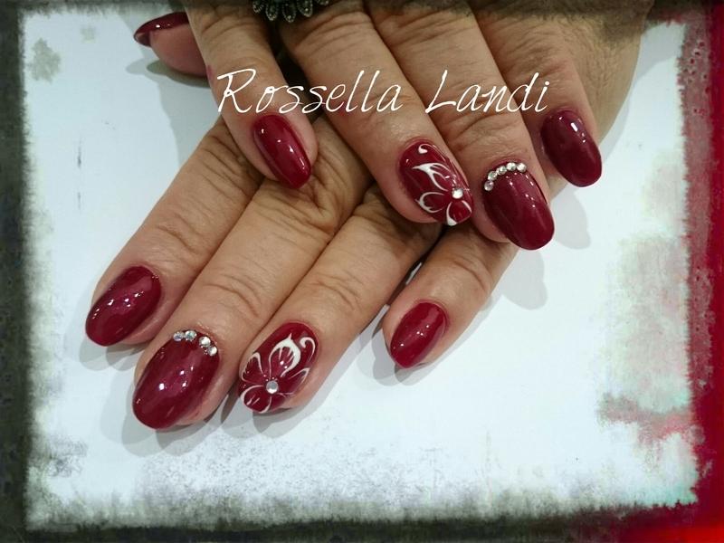 Geneva Superpaint Gel nail art by Rossella Landi