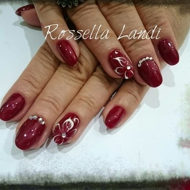 Geneva Superpaint Gel nail art by Rossella Landi