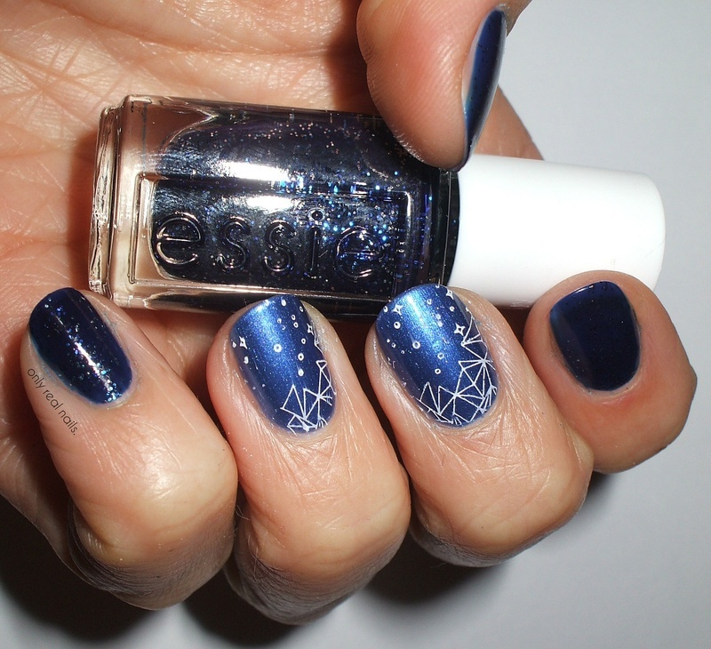 Starty, starty night nail art by only real nails.