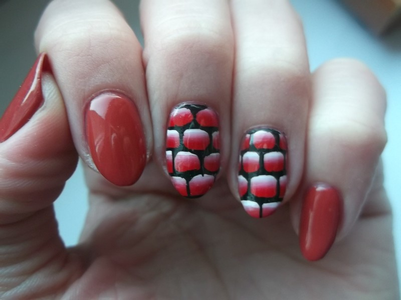 Day 22: Inspired by a song nail art by Sabina