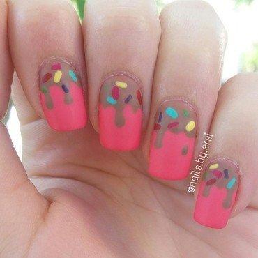 Chocolate Nails nail art by NailsByErsi