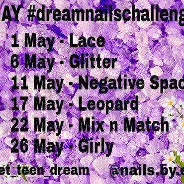 Instagram Nail Art Challenge - DreamNailsChallenge nail art by NailsByErsi