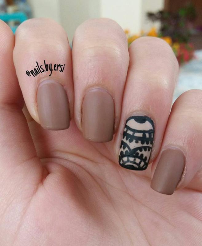 Lace Nails nail art by NailsByErsi