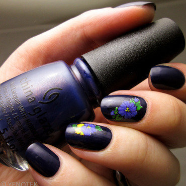 China Glaze Sleeping Under The Stars Swatch by Yenotek