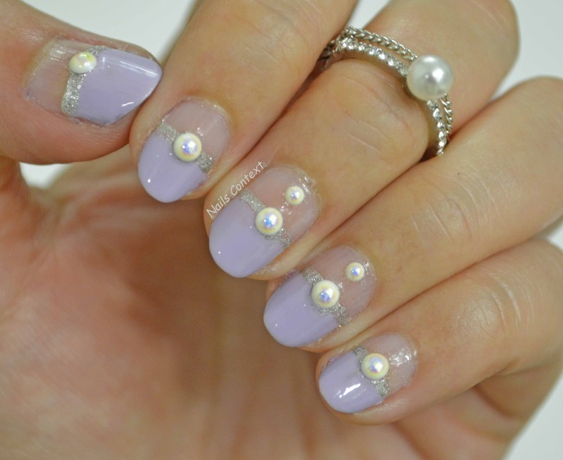 Pearls  nail art by NailsContext