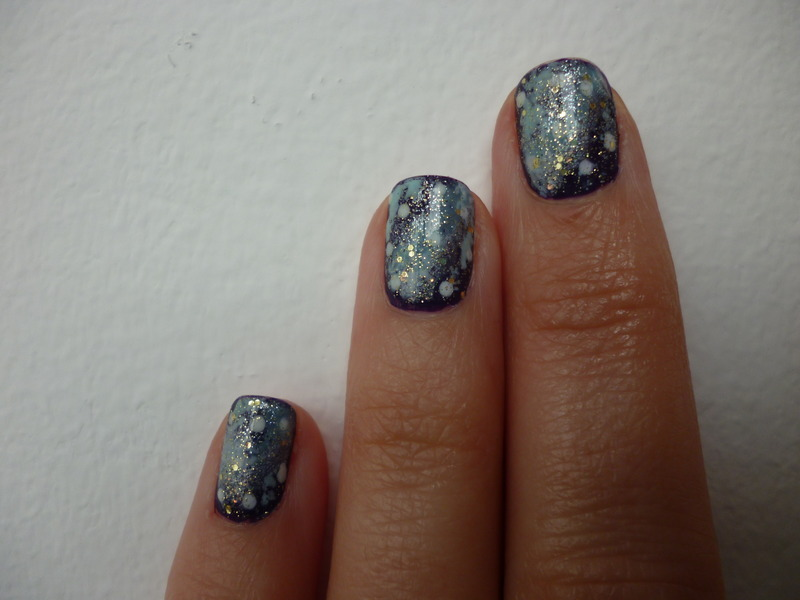 Once upon a time, in a Galaxy far far away....... nail art by velinux