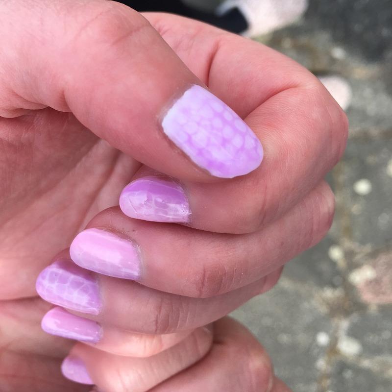 Snake nails nail art by mada3000