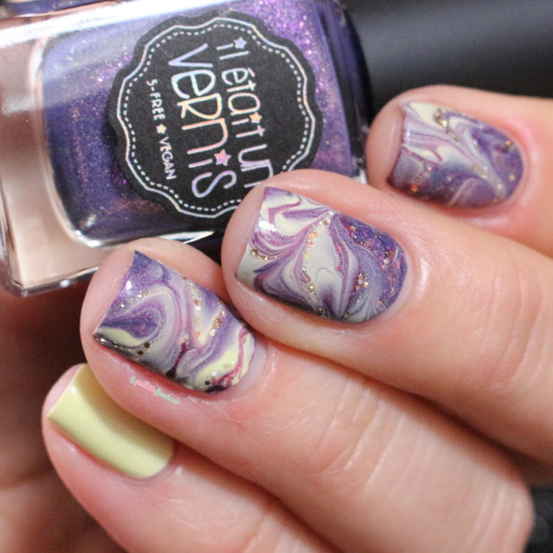 stone marble nail art by nathalie lapaillettefrondeuse
