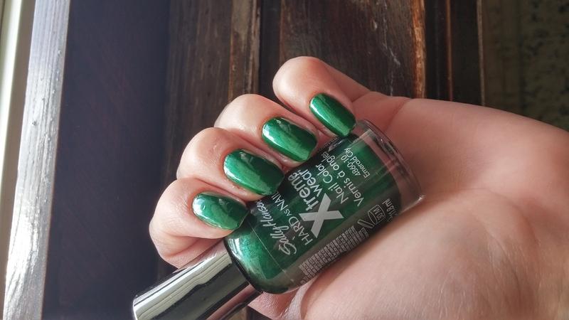 Sally Hansen Emerald City Swatch by Maya Harran