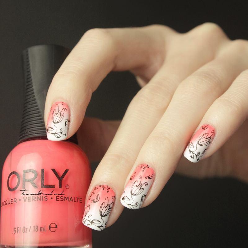 Spring Nails nail art by Tine
