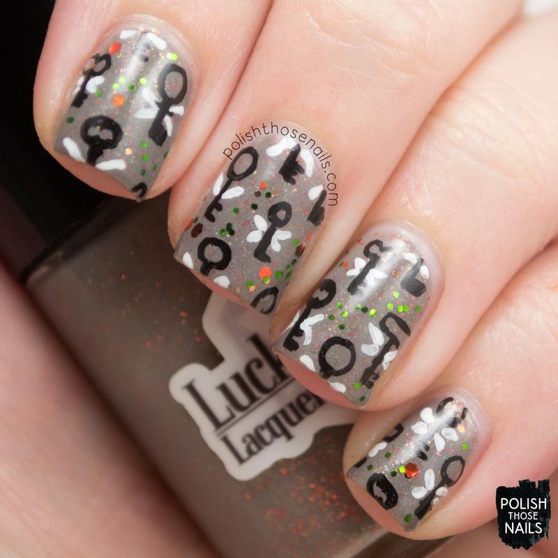 Accio Keys nail art by Marisa  Cavanaugh