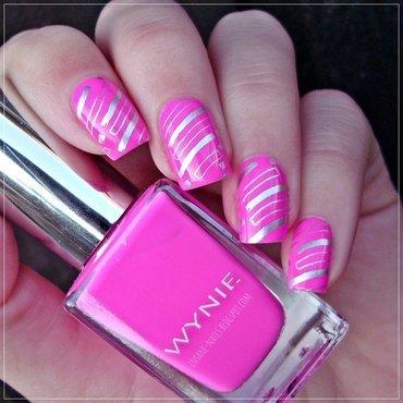 Geometric nails nail art by Sanela