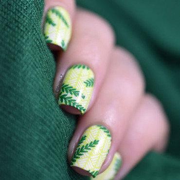 Moyou tropical 13 key lime leaves nail art 20 7  thumb370f