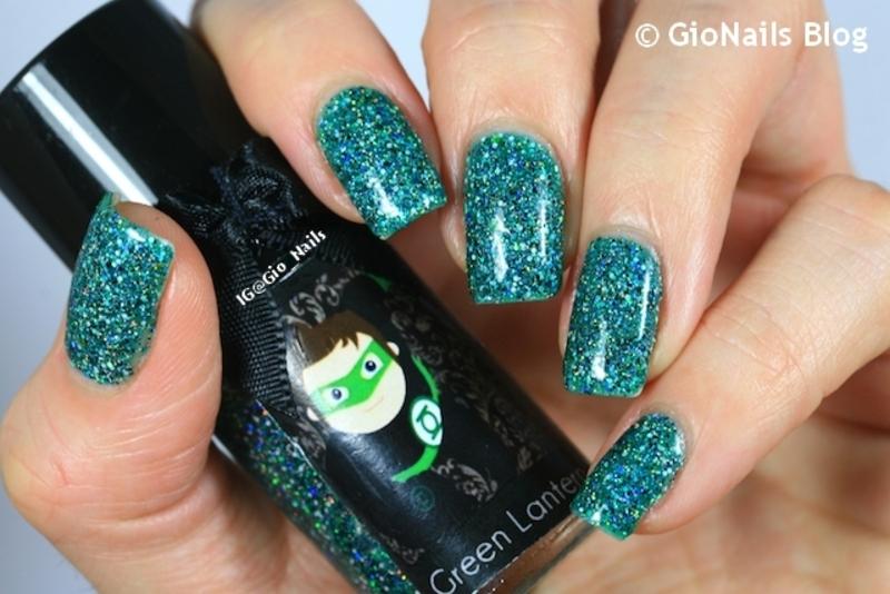 Esmaltes Da Kelly Green Lantern Swatch by Giovanna - GioNails