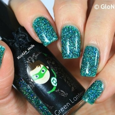 Esmaltes Da Kelly Green Lantern Swatch by Giovanna - GioNails