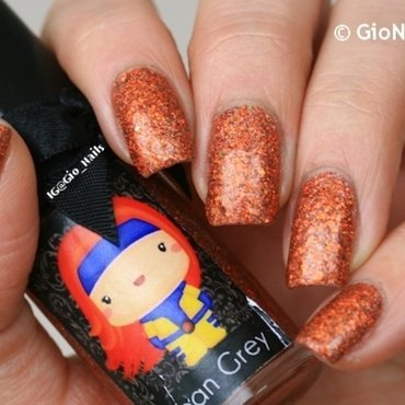 Esmaltes Da Kelly Jean Grey Swatch by Giovanna - GioNails