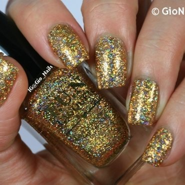 F.U.N. Lacquer Million Dollar Dream Swatch by Giovanna - GioNails