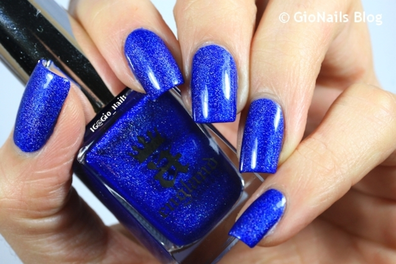 A-England Spirit Of The Moors Swatch by Giovanna - GioNails