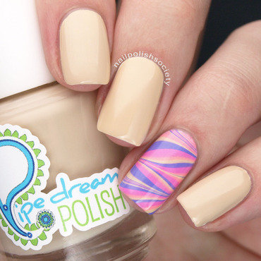 Pipe Dream Polish Mellowed Out Cremes Accent Nai nail art by Emiline Harris