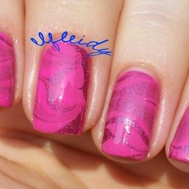 #watermarblepracticewed 04-27-2016 nail art by Jenette Maitland-Tomblin