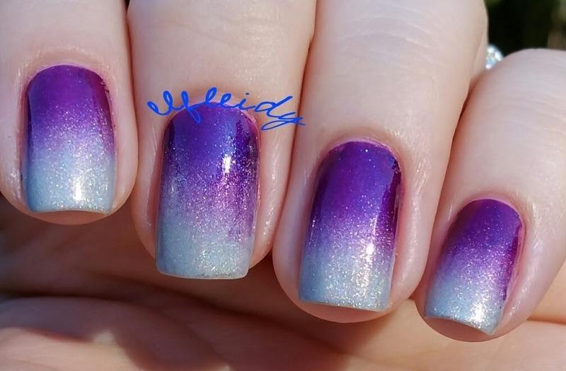 Prince tribute nail art by Jenette Maitland-Tomblin