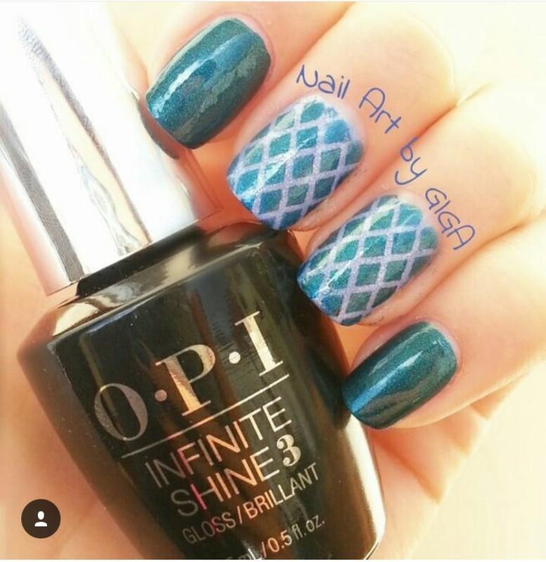 Colorful shine Nail Art  nail art by Nail Art By Giga
