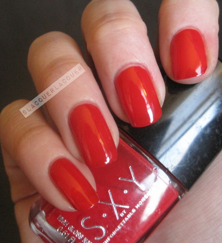 S.X.Y Cherry Bombshell Swatch by Tina
