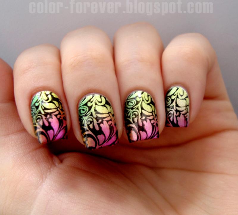 spring nail art nail art by ania
