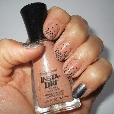 Grey matter nail art by only real nails.