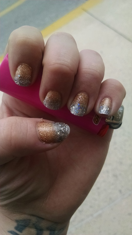 2 nail art by Dominique Williams