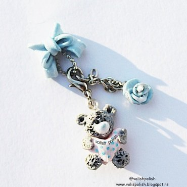 Handmade nail charms nail art by Volish Polish