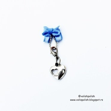 Handmade nail charms - 4Dbow nail art by Volish Polish