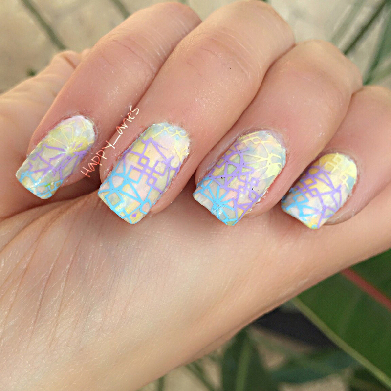 Pastel nails nail art by Happy_aries