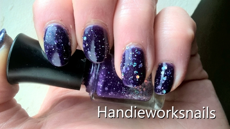 Sparkle nail art by Sazjay