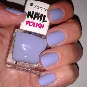 My Secret Lavender Swatch by only real nails.