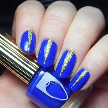 Arabian Nights nail art by nailicious_1