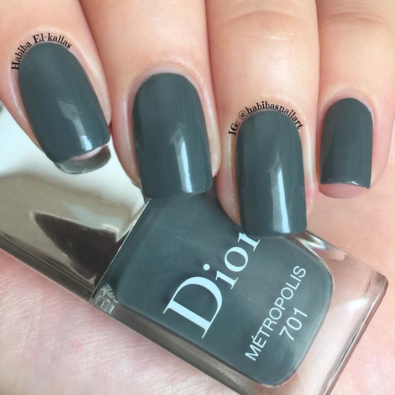 Dior Metropolis Swatch by Habiba  El-kallas