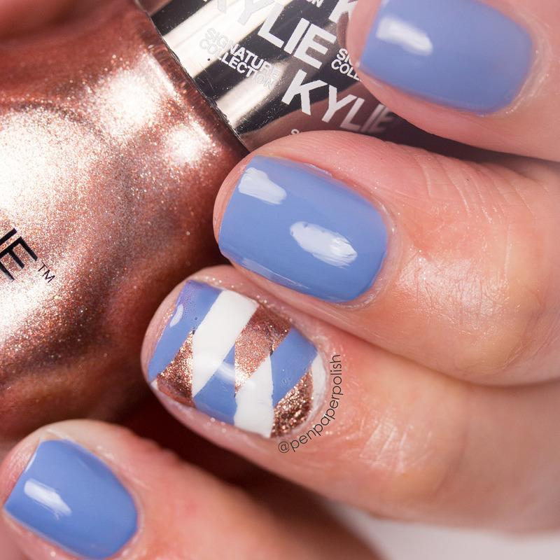 Fishtail Braid nail art by Misty