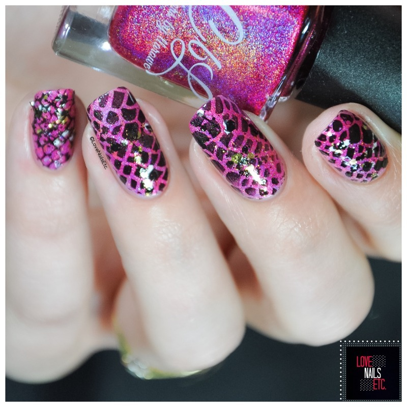 Repstyle nail art by Love Nails Etc