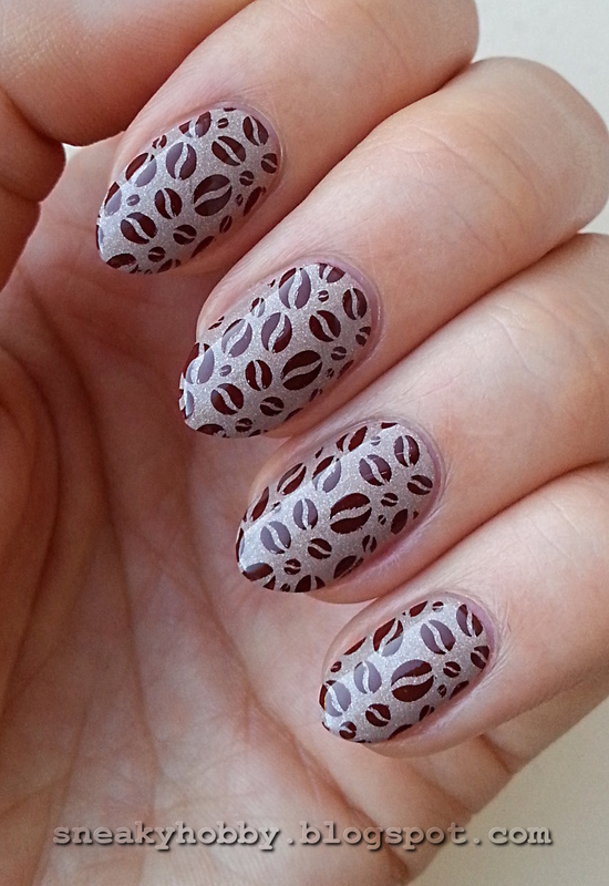 Coffee Addict Manicure - Part 6 nail art by Mgielka M