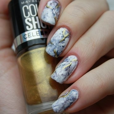 Nails of Stone nail art by Lin van T