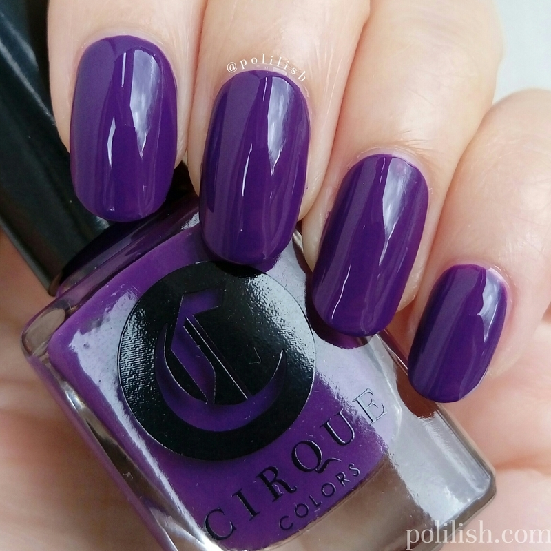 Cirque Colors Chelsea Girl Swatch by polilish