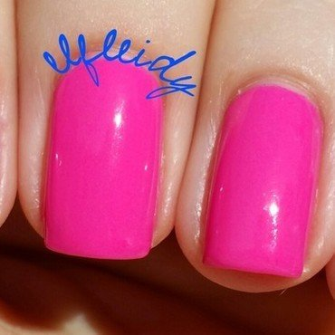 China Glaze I'll Pink to That Swatch by Jenette Maitland-Tomblin