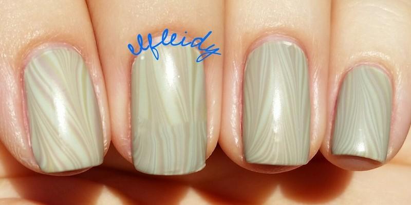 #watermarblepracticewed 05-25-2016 nail art by Jenette Maitland-Tomblin